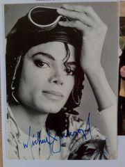 Michael Jackson handsigniert 10 5x14