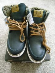 Schnürboots Boots Schuhe knöchelhoch Gr
