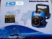 Dashcam DVR Car Recorder blau