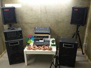 DJ Musik Anlage