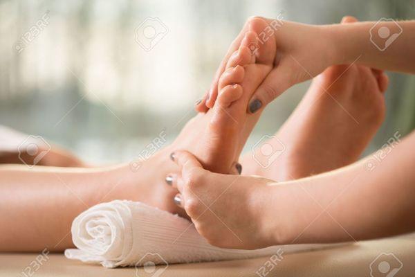 kostenlose Massage für Dich nur