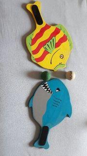 Fisch und Hai