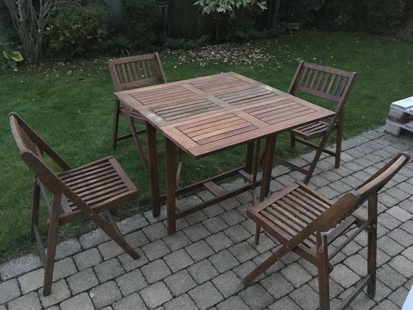 Gartentisch 4 Stuhle In Anzing Gartenmobel Kaufen Und Verkaufen