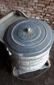 Antike - MIELE Holzfass Waschmaschine - alt -