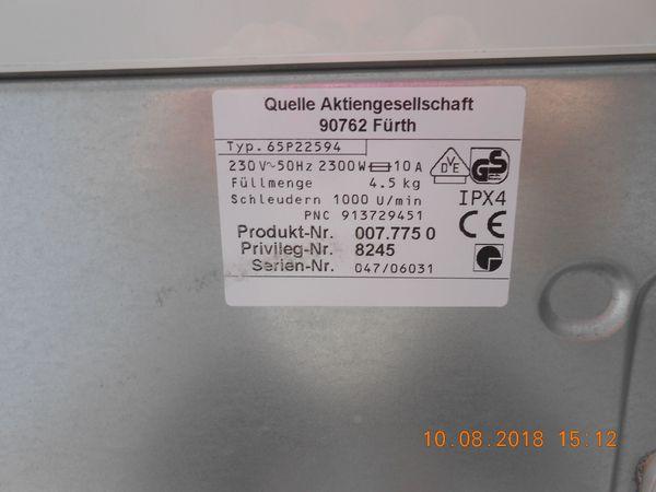 Waschmaschine toplader top zustand filderstadt sonstige