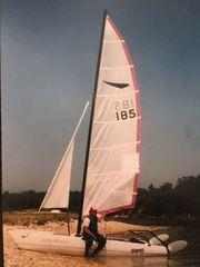 Segelboot Katamaran DART 15 STING