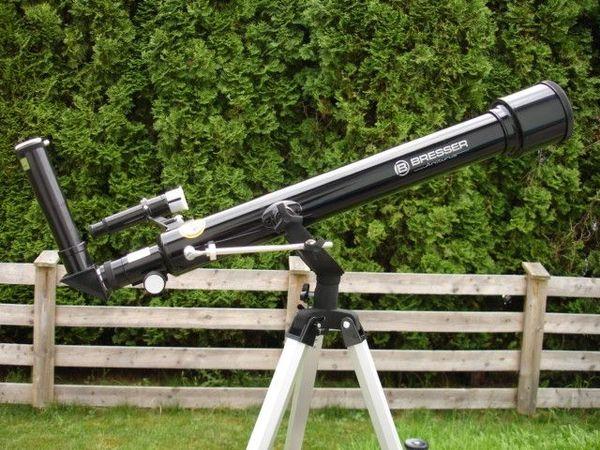 Bresser weltraum teleskop classic line nr  besser als