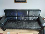 Echt Leder Couch 3 teilig