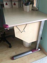 Schreibtisch mit Scout-Stuhl zu verkaufen