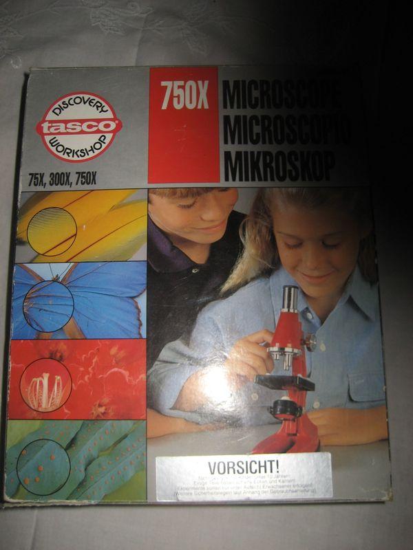 Microscope Tasco 750x Power mit