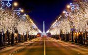 Weihnachtsmarkt und Advent in einer
