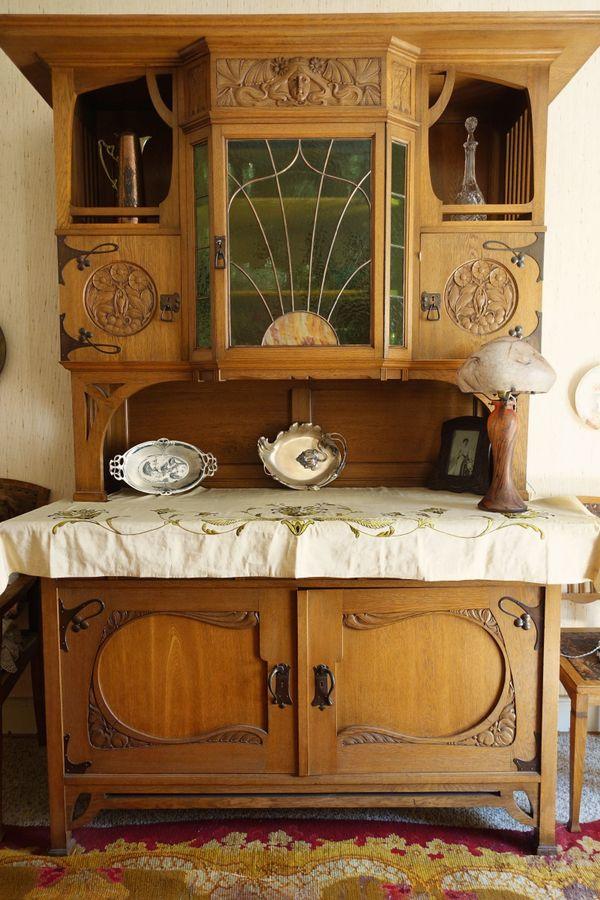Jugendstil Esszimmer, Antik » Sonstige Möbel Antiquarisch