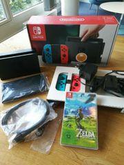 Nintendo Switch Zelda neuwertig