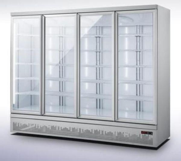 Kühlschrank Getränkekühlschrank 4 Türen 2025