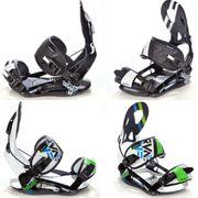 Raven Snowboard Bindung s250 Black