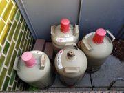 Propangas Eigentumsflasche 11kg Grau gebraucht