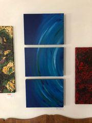 Triptychon Bild Acryl auf Leinen