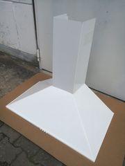 Dunstabzug Kaminhaube 90 cm weiß