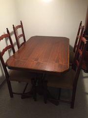Esstisch nussbaum massiv antik  Tisch Nussbaum Antik - Haushalt & Möbel - gebraucht und neu kaufen ...
