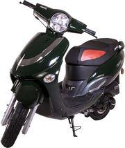 R03 Jigger City Retro-Roller Dunkelgrün