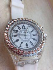 Neu Damen Armband-Uhr Quartz Geneva