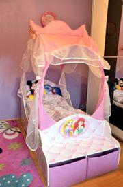 Kleinkinderbett Mädchen Disney Prinzessin Himmelbett