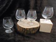 Weinbrandschwenker 5 Gläser
