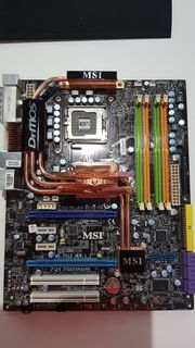 Mainboard MSI MS-7512 P45 Zilent