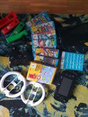 Wii U mit viel Zubehör