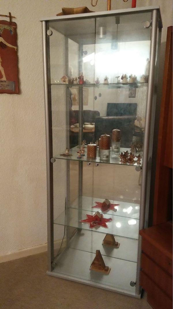 Glasvitrine spiegel gebraucht kaufen nur 3 st bis 70 for Schrank quoka