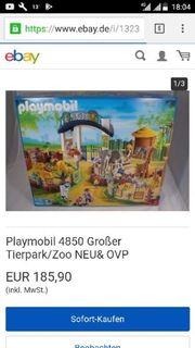 playmobil großer Tierpark
