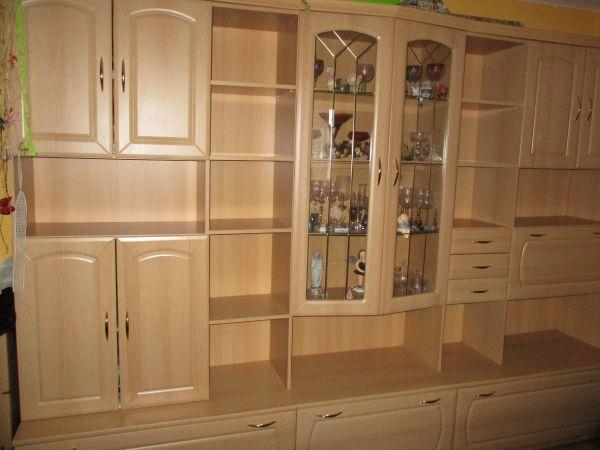 Wohnzimmer wohnwand wei gebraucht kaufen nur 2 st bis for Gebrauchte anbauwand