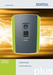 Energiespeicher Plenticore mit PV-Anlage