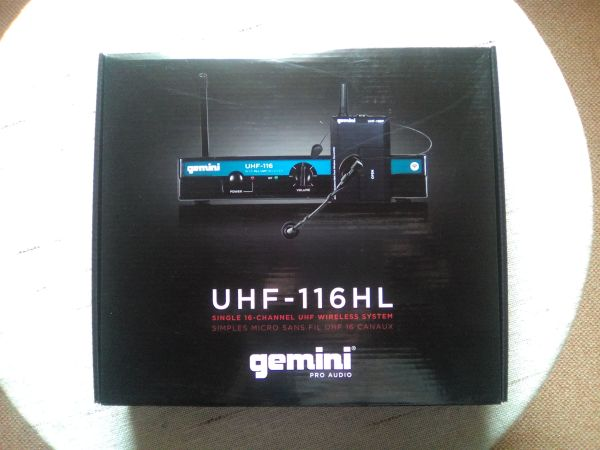 Gemini UHF-System mit Single Headset