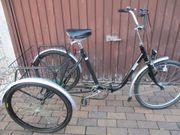 Erwachsenen Dreirad Therapierad Seniorenrad 24