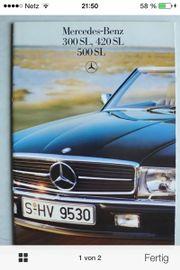 Prospekt Mercedes. 500