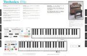 Heimorgel Technics E11