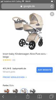 Kinderwagen Knorr Alive Pure fast