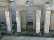 Alte Fenstergewände Portale aus Sandstein