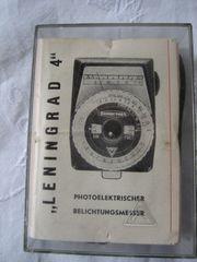 Belichtungsmesser Leningrad 4 Sammlerstück mit