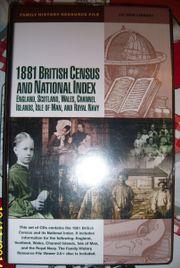1881 BRITISH CENSUS