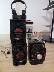 LG CM4350 Hi-Fi Anlage mit