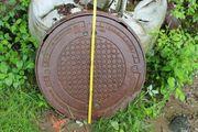 Kanaldeckel Schachtdeckel 70 cm