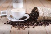 Kaffee trinken und