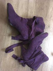 Lila Schuhe neu