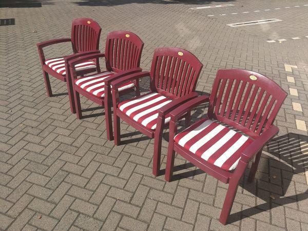 4 Gartenstühle Der Marke Hartmann