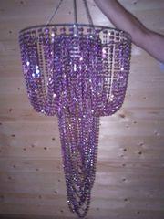 Orientalische Lampe violett
