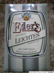Blechschild Brauerei Eder