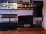 Wohnwand Wohnzimmer Schränke Regale