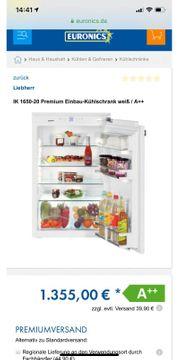 Liebherr Einbaukühlschrank IK 1650 20A